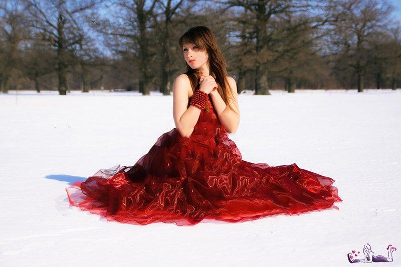 Это красное платье..